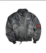Куртка ALPHA INDUSTRIES CWU-45P Flight Jacket Gun Metal