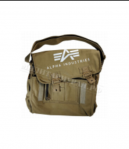 Сумка ALPHA INDUSTRIES Big A Canvas Courier Bag