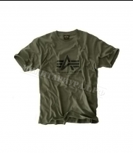Футболка ALPHA INDUSTRIES Basic Olive