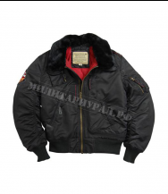Куртка ALPHA INDUSTRIES Injector Black