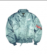Куртка ALPHA INDUSTRIES CWU-45P  DE Steel Green