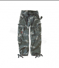 Брюки SURPLUS Airborne Vintage Night Camo