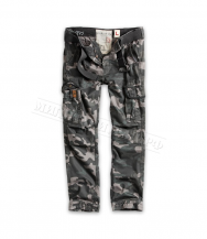 Брюки SURPLUS Premium Vintage Slimmy Black Camo