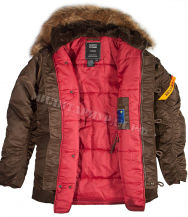 Куртка NORD STORM HUSKY TIGHT N -3B Brown Red