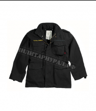 Куртка ROTHCO Ultra Force Vintage M-65 с подстёжкой Black