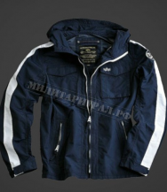 Куртка ALPHA INDUSTRIES Stormer Blue