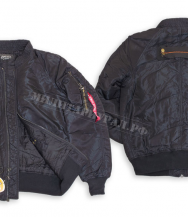 Куртка ALPHA INDUSTRIES Avenger Jacket Black