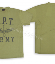 Футболка Cockpit C P T Army Fatigue Green