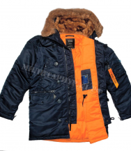 Куртка NORD STORM SITKA TIGHT N -3B Replika Blue Orange