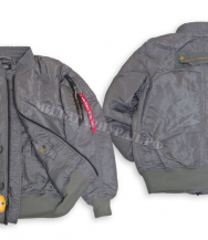 Куртка ALPHA INDUSTRIES Avenger Jacket Gun Metal