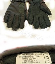 Перчатки INTERMEDIATE Cold Wet Glove Olive